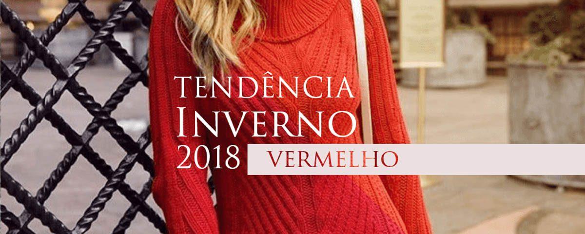 Tendência do inverno 2018: Vermelho