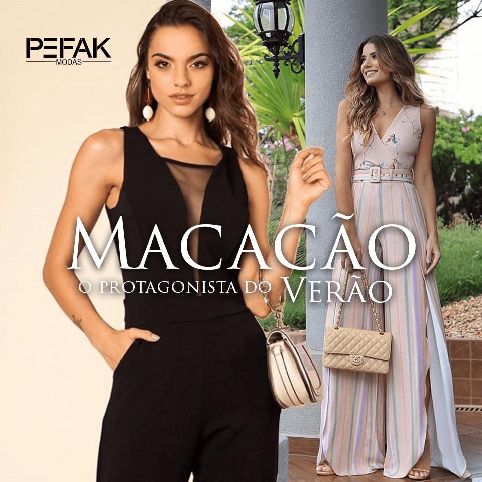 8d1f32bdd Macacão, o protagonista do verão | PEFAK Modas